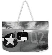 Bw Aircraft Gunner Window Weekender Tote Bag