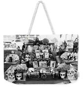 Bw Classic Car Trunk Decor Day Dead  Weekender Tote Bag