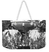 Bw Fountain At The Getty Villa Weekender Tote Bag