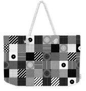 Bw Pop Pattern Weekender Tote Bag