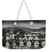 Bw Prague Bridges Weekender Tote Bag