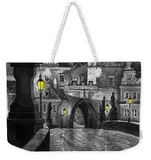 Bw Prague Charles Bridge 03 Weekender Tote Bag