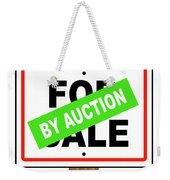 By Auction Weekender Tote Bag