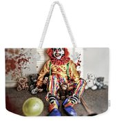 By Blood A King In Heart A Clown Weekender Tote Bag