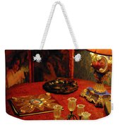 By Lamplight Weekender Tote Bag