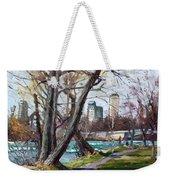 By Niagara River Weekender Tote Bag