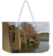 By The Bridge Weekender Tote Bag