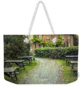 By The End Of A Road Weekender Tote Bag