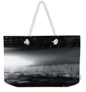 By The End Of The Day Weekender Tote Bag