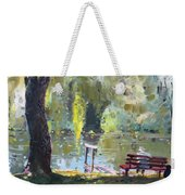 By The Lake  Weekender Tote Bag