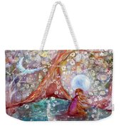 By The Light Of The Full Moon Weekender Tote Bag