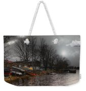 ...by The Pier... Weekender Tote Bag