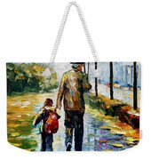 By The Rain Weekender Tote Bag