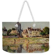 By The River At Vernon Weekender Tote Bag