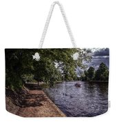 By The River Ouse Weekender Tote Bag