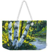 By The River Weekender Tote Bag
