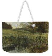 By The Riverbank, 1869 Weekender Tote Bag