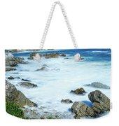 By The Sad Sea Waves Weekender Tote Bag