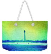 By The Sea - Cape May Lighthouse Weekender Tote Bag