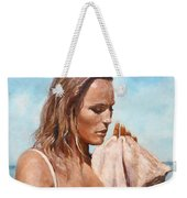 By The Seaside Weekender Tote Bag