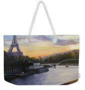 By The Seine Weekender Tote Bag
