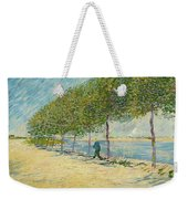 By The Seine Weekender Tote Bag