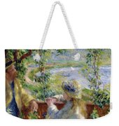 By The Water Near The Lake Weekender Tote Bag