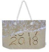 Bye Bye 2017 Welcome2018 Weekender Tote Bag