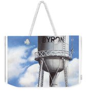 Byron Water Tower Poster Weekender Tote Bag