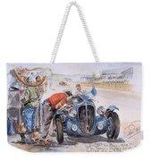 c 1949 the delahaye 135 s driven by giraud and gabantous Roy Rob Weekender Tote Bag