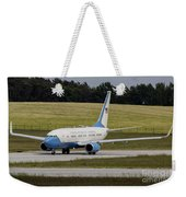 C-40 Clipper Taxiing At Dresden Weekender Tote Bag