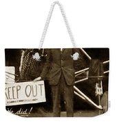 Charles A. Lindbergh And Spirit Of St. Louis 1927 Weekender Tote Bag