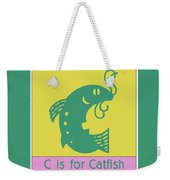 C Is For Catfish Kids Animal Alphabet Weekender Tote Bag