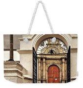 Arched Entry Weekender Tote Bag