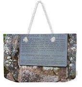 Ca-779 Rockville Stone Chapel Weekender Tote Bag