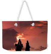 Cloud Anamoly Running Man Weekender Tote Bag