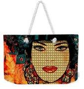 Cabaret Girl Weekender Tote Bag