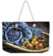 Cabbage And Figs Weekender Tote Bag by Sari Sauls
