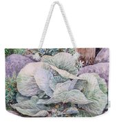 Cabbage Head Weekender Tote Bag