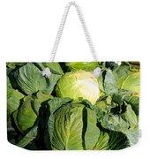 Cabbage Weekender Tote Bag
