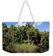 Cabbage Palms Along The Cotee River Weekender Tote Bag