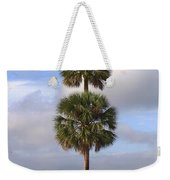 Cabbage Palms Weekender Tote Bag