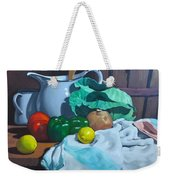 Cabbage3 Weekender Tote Bag