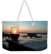 Cabernet Sunset Weekender Tote Bag