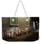 Cabildo Alley Tables Weekender Tote Bag