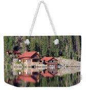 Cabin Weekender Tote Bag