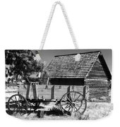 Cabin And Wagon Weekender Tote Bag