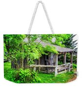 Cabin At The Top Mt Leconte Weekender Tote Bag