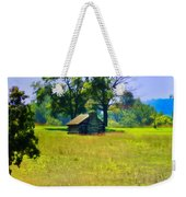 Cabin At Valley Forge Weekender Tote Bag