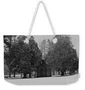Cabin Between The Cedars Weekender Tote Bag